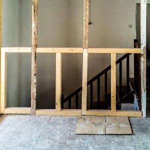 Projet avant transformation balustre bois