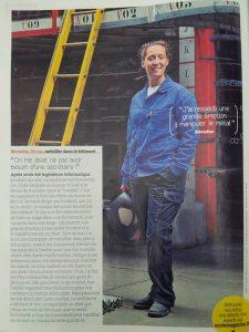 Santé magazine parle de Métal'Rine
