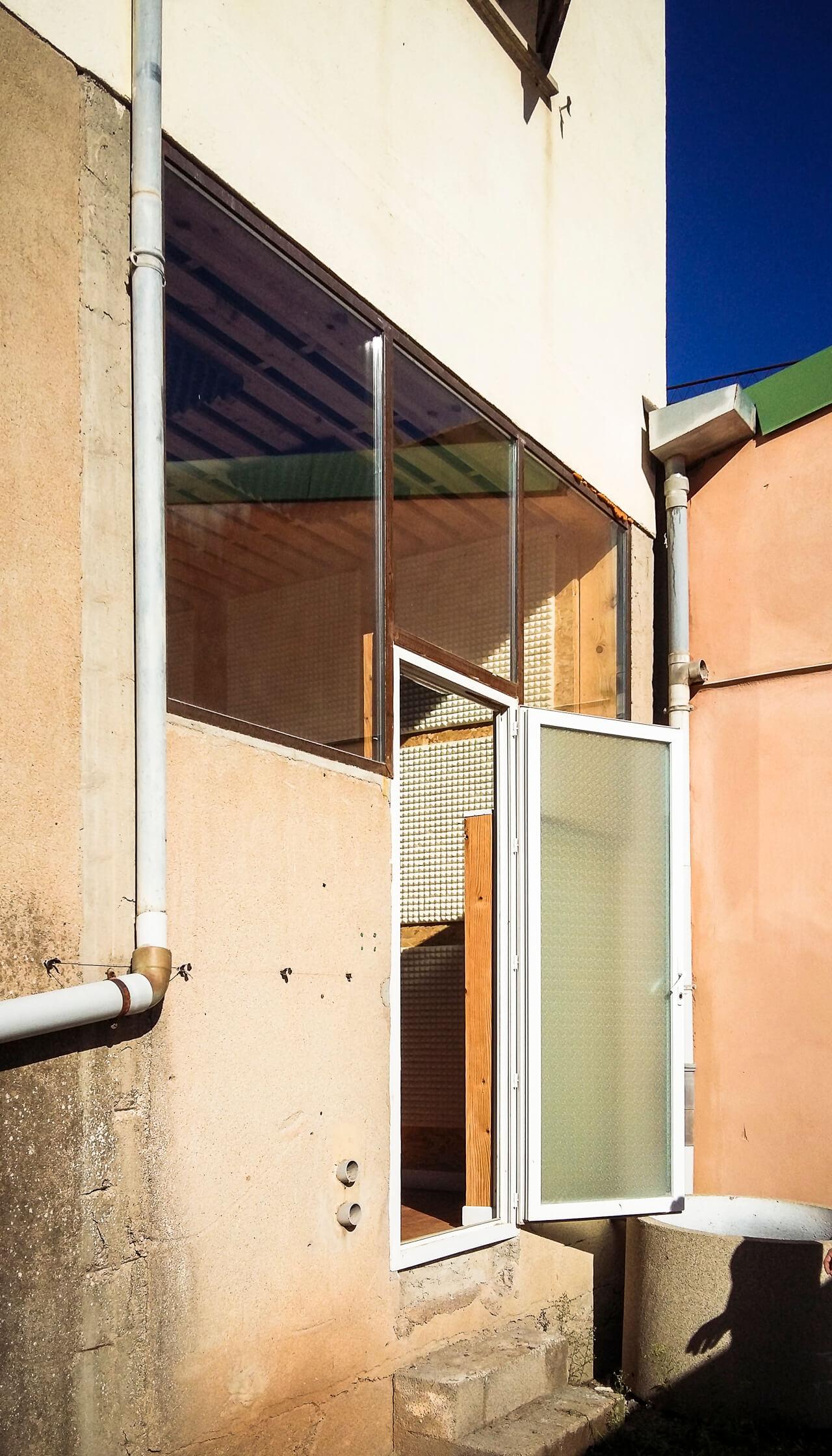 baie vitrée salle Saly danse