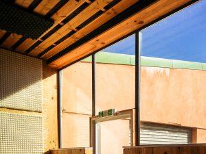 baie vitrée intérieur centre Saly danse