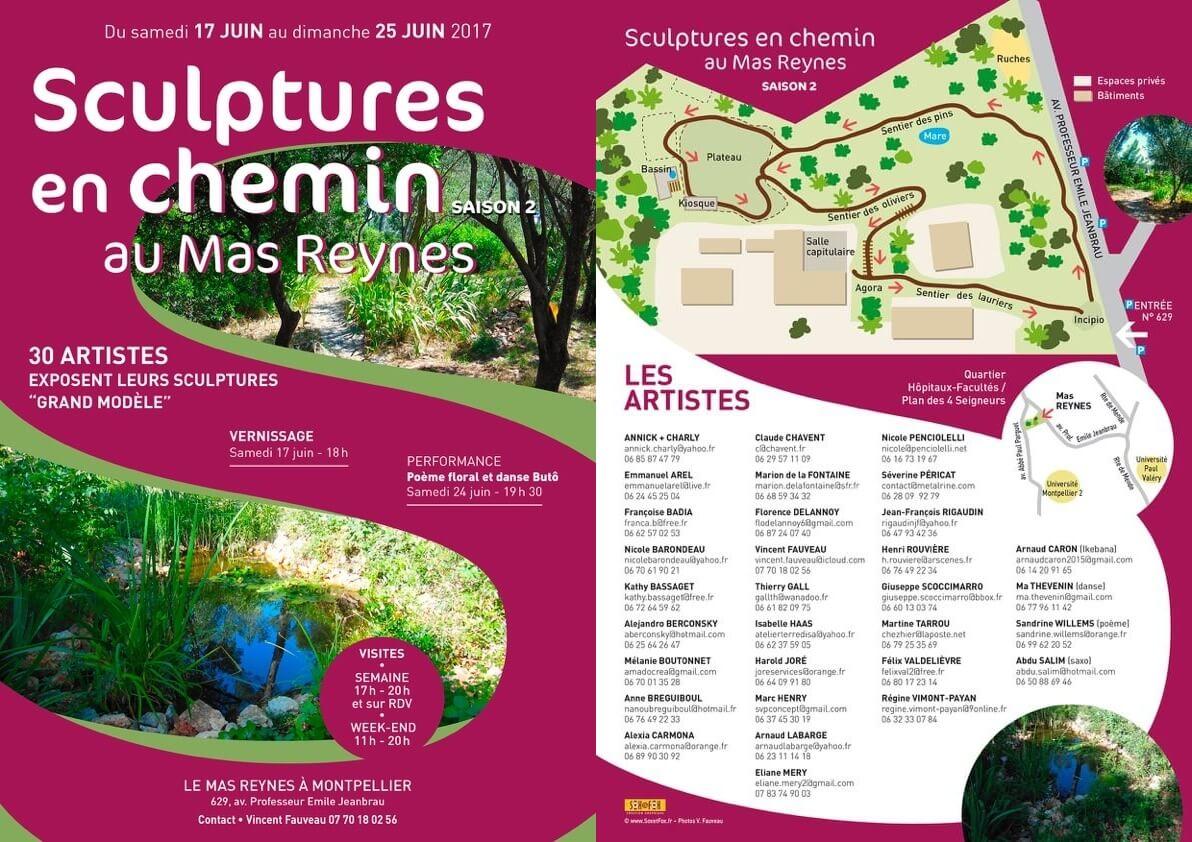 Exposition Artistique au Mas reynes MétalRine