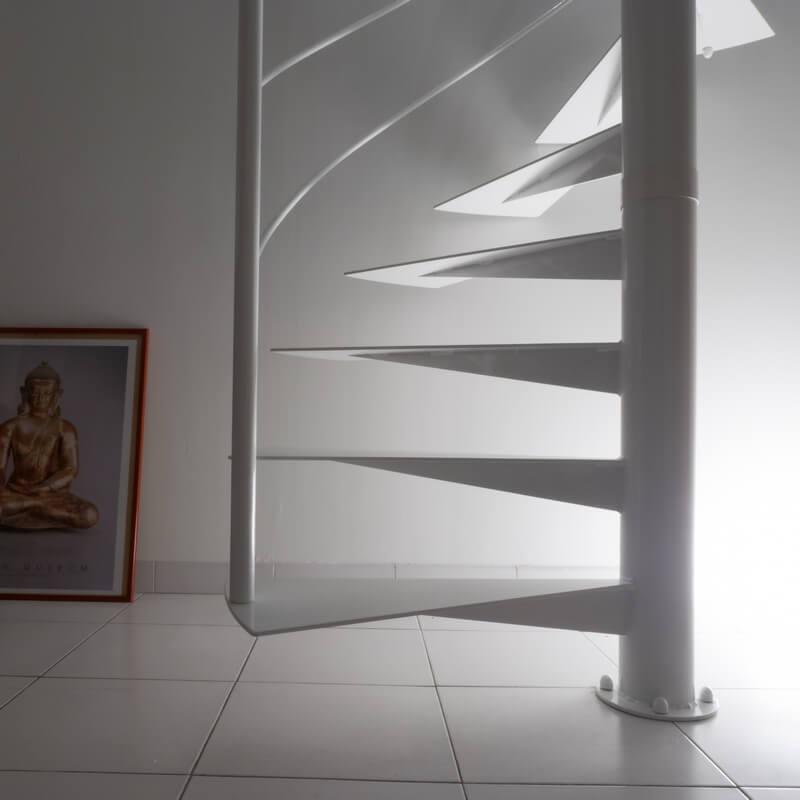 Escalier Hélicoïdal départ réaliser sur mesure