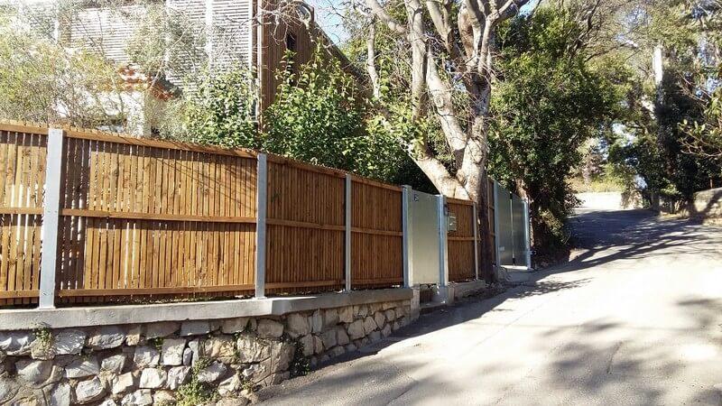 Clôture + portillon + portail