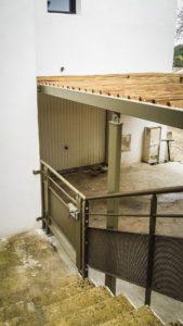 Carport et portillon - Métal'Rine